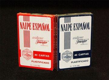 Imagen de Naipe Fournier 35x40 Cartas