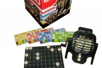 Imagen de Bingo Bolillero Plastico 90 Bolillas 48 Cartones