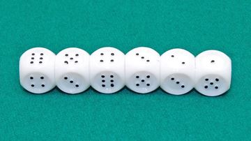 Imagen de Dado Braille Plástico