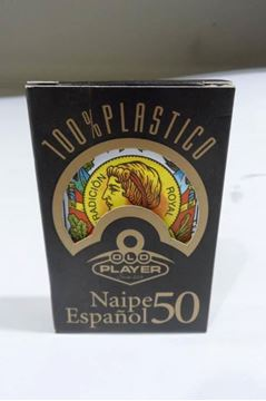 Imagen de Naipe Old Player Español 100% Plástico