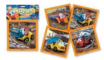Imagen de 4 Puzzles 4 piezas - Constructor
