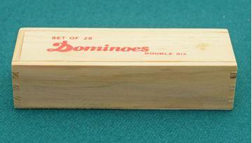 Imagen de Domino Doble 6 40 X 20 X 6 Caja Mad. C