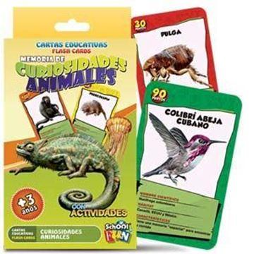 Imagen de Cartas Educativas Curiosidades Animales