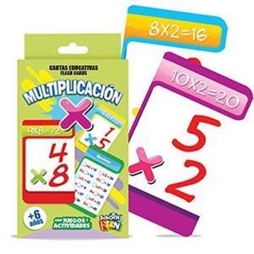 Imagen de Cartas Educativas Multiplicacion