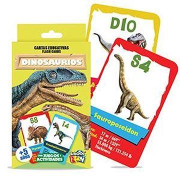 Imagen de Cartas Educativas Dinosaurios