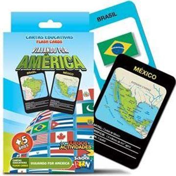 Imagen de Cartas Educativas Viajando Por America