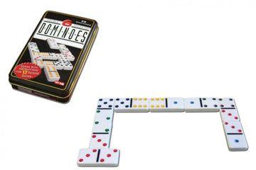 Imagen de Domino Doble 6 Caja Metal