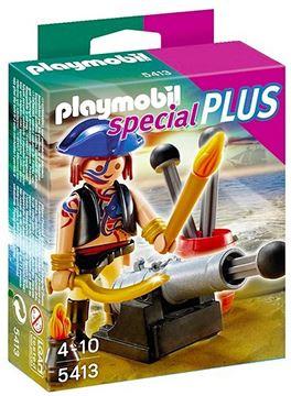 Imagen de Playmobil 5413 - Pirata Con Cañon